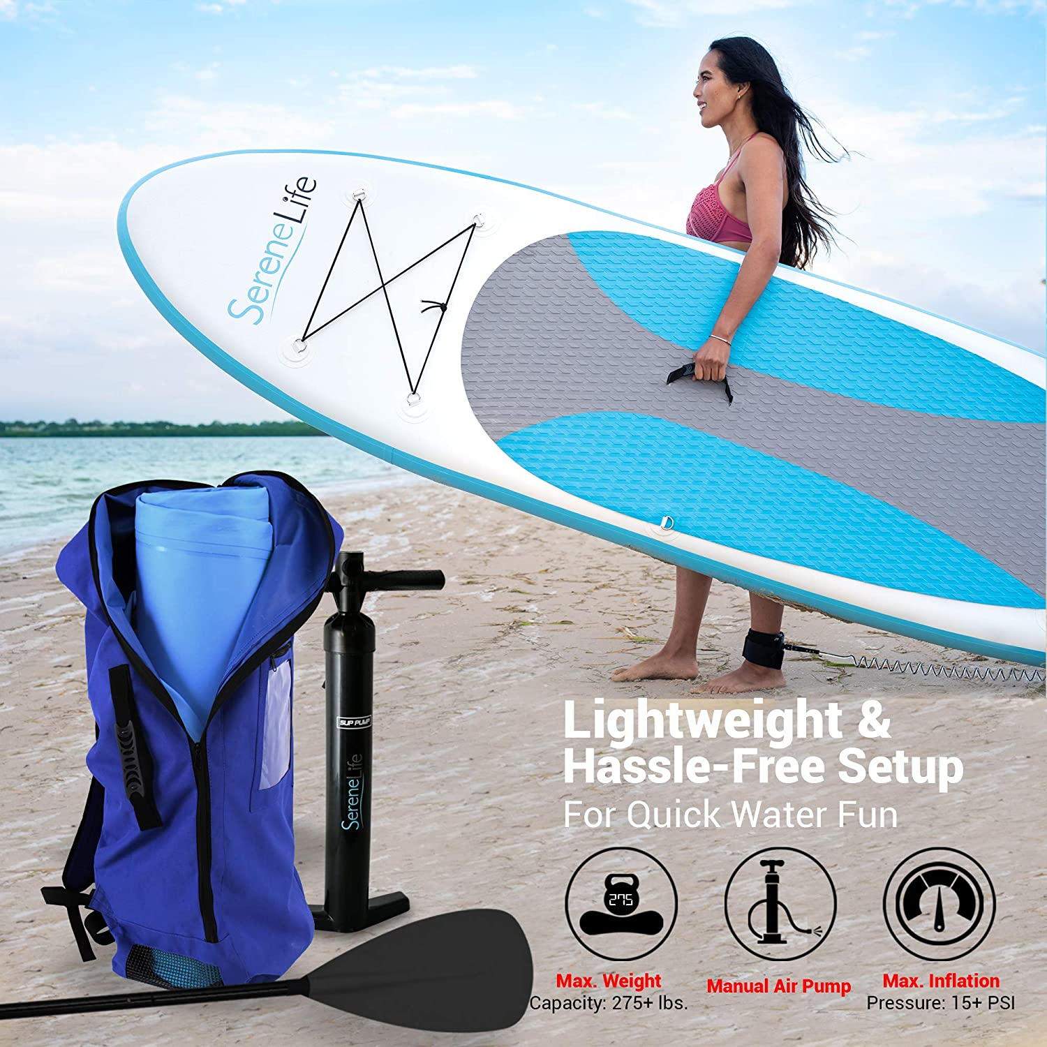 lightweight-portable-inflatable-paddle-board