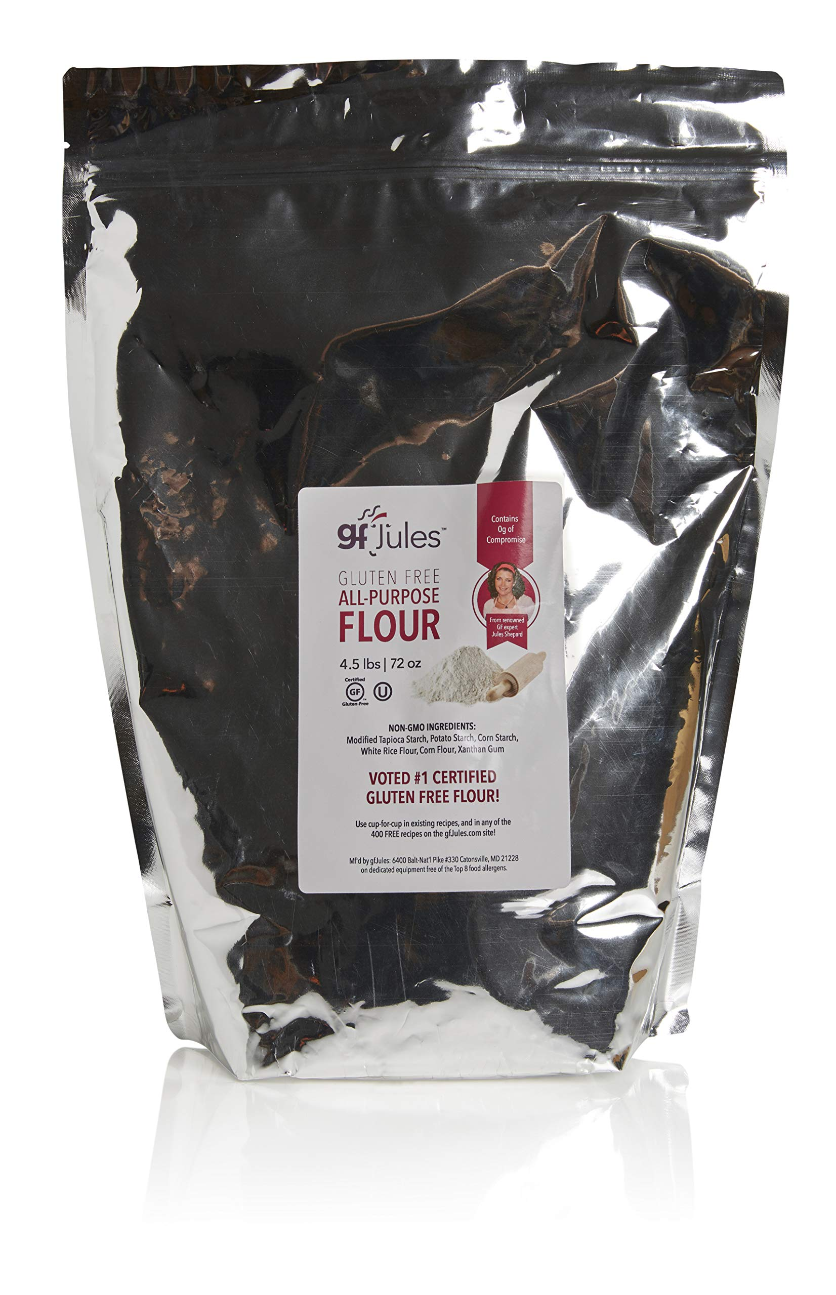 gfJules Gluten Free Flour - Voted #1 by GF Consumers 4.5 lb Bag, Pack of 1 by gfJules
