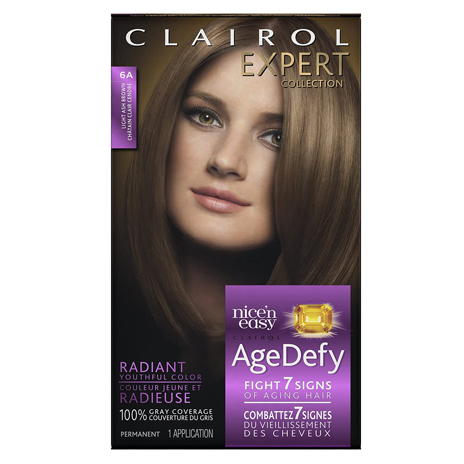 Amazon Clairol Age Defy Expert Collection 6A Light Ash