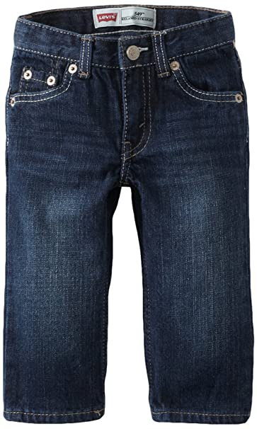 Amazon.com: Levi de bebé Boys 505 relajado Straight Jean ...