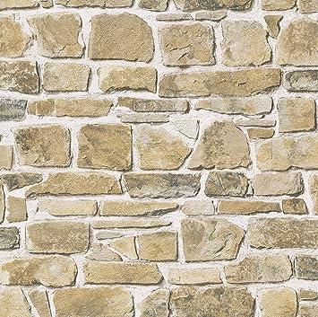 rt rasch papel pintado para pared diseo de piedra multicolor