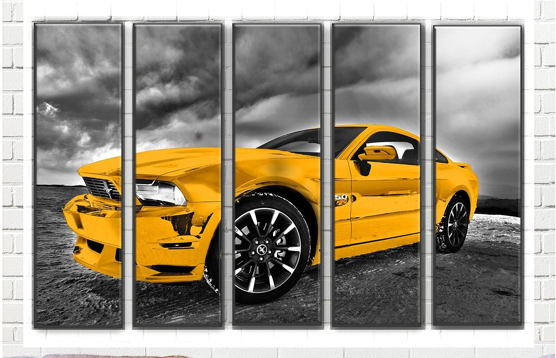 Amazon.com: Hotel Arizona HD Large Set Muscle Car Picture Wall Art ...
