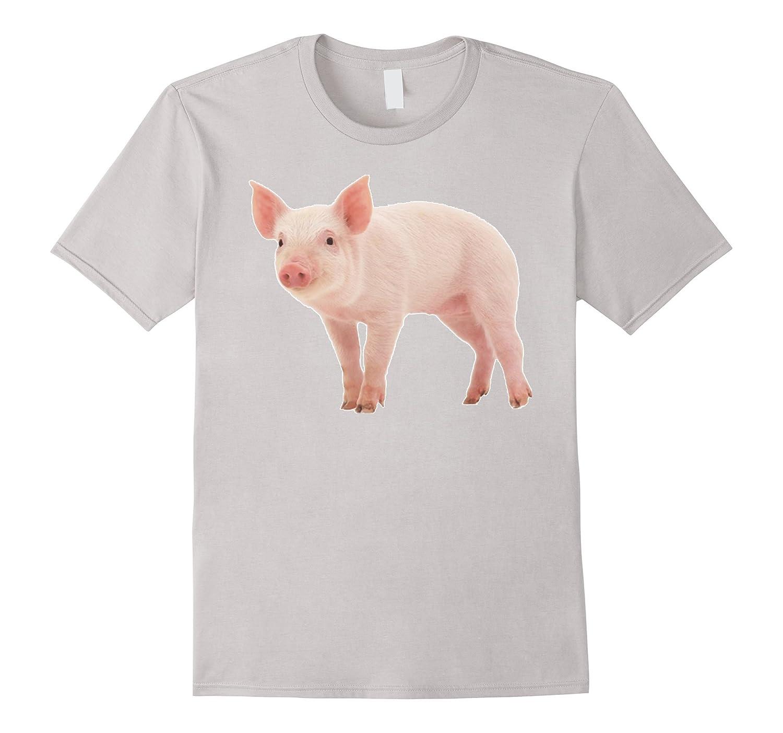 Pig T Shirt Tshirt for men women boys girls kids-TD