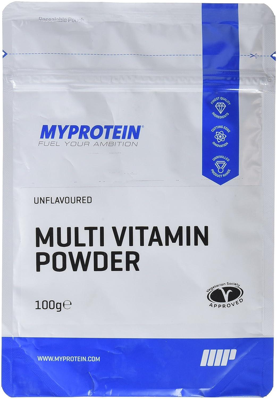 MyProtein Powder Multivitaminas y Minerales - 100 gr: Amazon.es: Salud y cuidado personal