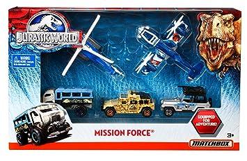 Jurassic Mattel World Matchbox Dfw20 Fahrzeuge Sondereinsatz N8nw0vm
