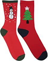 RJM Mens Cotton Rich Christmas Socks Size 7-11