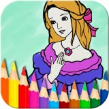 Princess Fairy Coloring Book