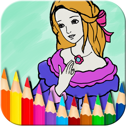Princess Fairy Coloring