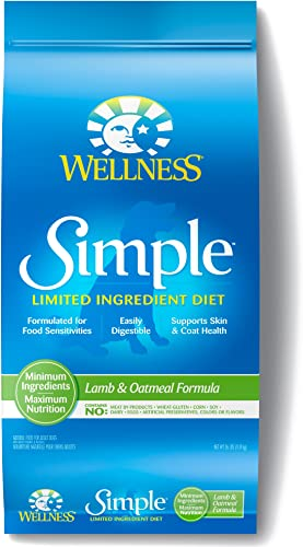 Wellness Simple Natural Limited Ingredient Dry Dog Food Lamb Oatmeal