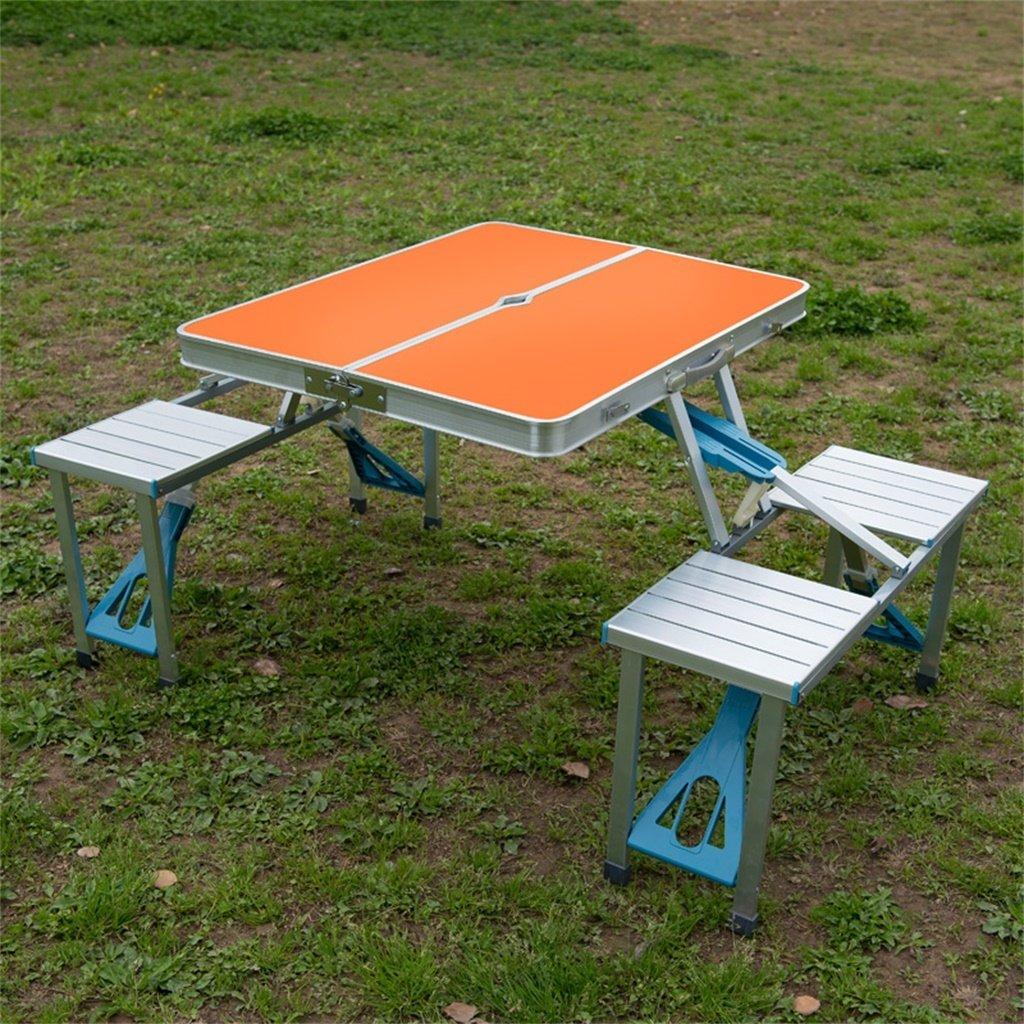 Jardin Cqq Table pliante Table pliante extérieure Portable ...