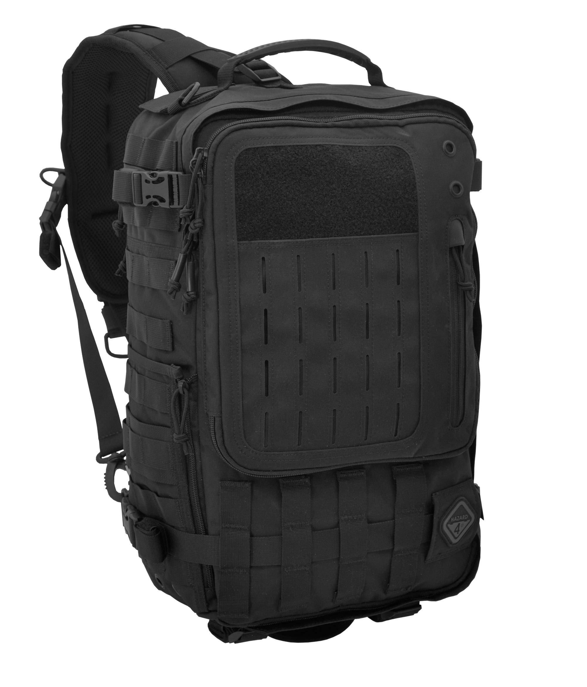 Sidewinder(TM) Full-Sized Laptop Sling Pack by Hazard 4(R) - Black