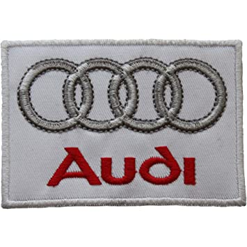 0a04146caa4fb Audi Logo Badge Embroidered Patch 3.5
