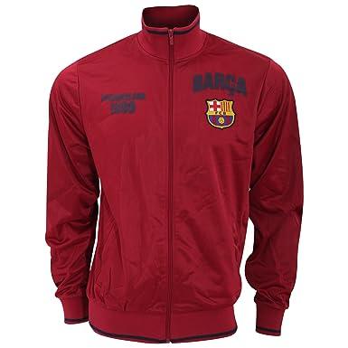 FC Barcelona - Sudadera Oficial del FC Barcelona con Escudo en el Pecho - Premier League