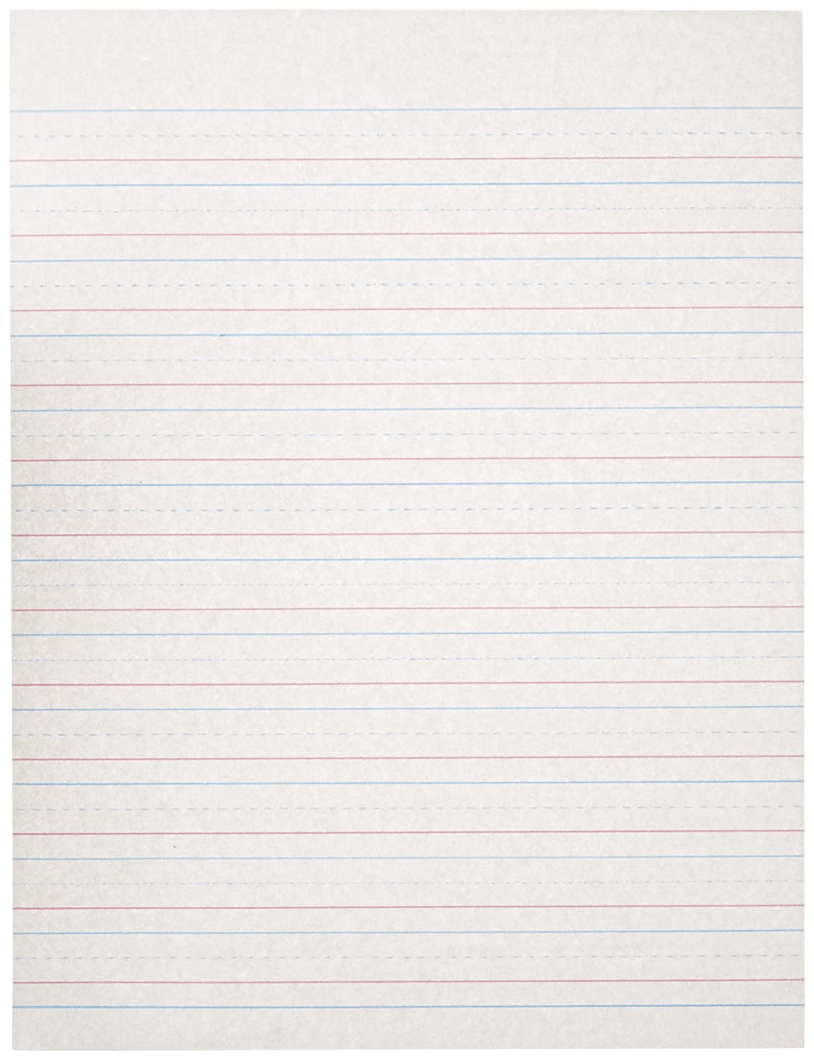 ruled paper for handwriting Primary handwriting notebooks office  writing practice paper: handwriting ruled, penmanship practice paper notebook letters & words with dashed center line .