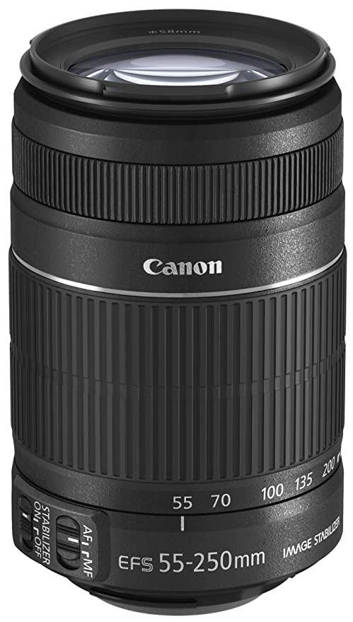 Review Canon EFS 55-250mm f/4.0-5.6