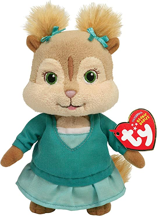 Amazon Com Ty Beanie Baby Eleanor Alvin And The Chipmunks Toys Games