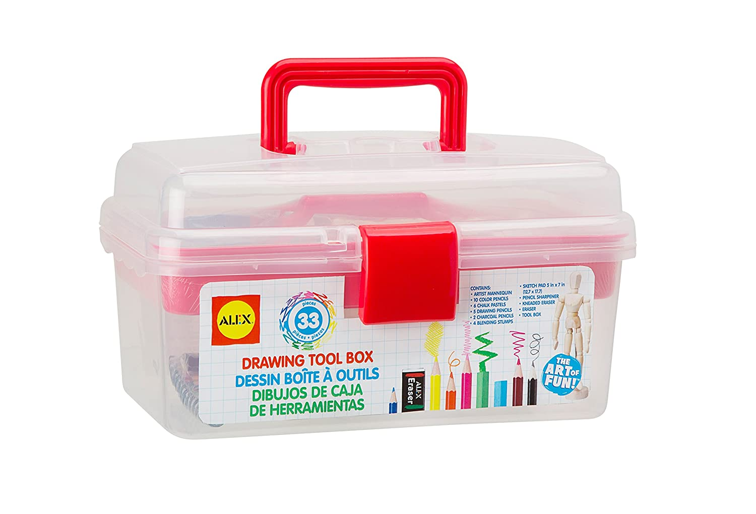 $11.97 Alex Toys Artist Studio Drawing Tool Box