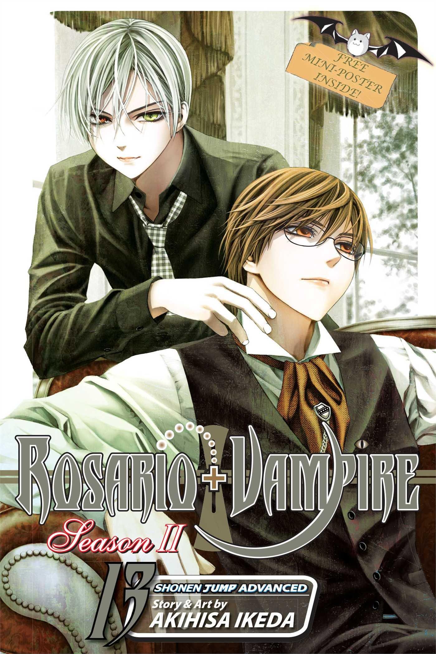 rosario vampire season ii vol 13 akihisa ikeda 9781421569499