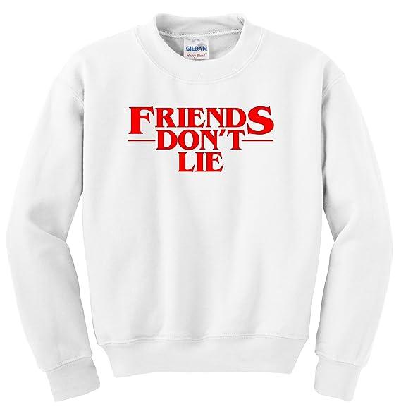 268298d8593baf Amazon.com: NuffSaid Strange Friends Don't Lie Crescent Premium ...