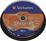 Verbatim 43523 DVD-R 16 x 10pk spindle