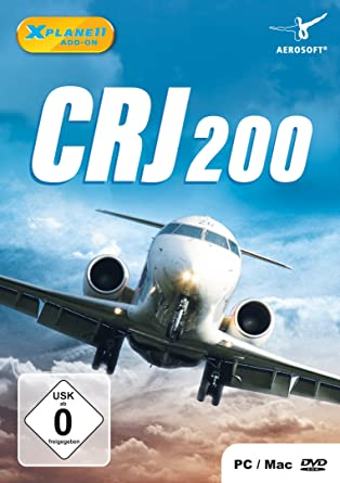CRJ-200 (Add-on for XPlane11) (PC DVD): Amazon co uk: PC