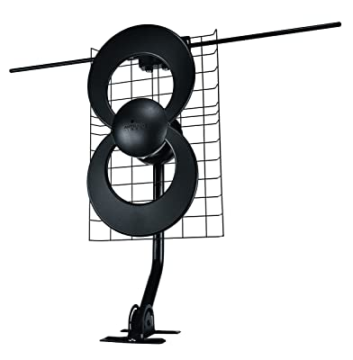 ClearStream 2V Indoor/Outdoor HDTV Antenna with Mount - 60 Mile Range