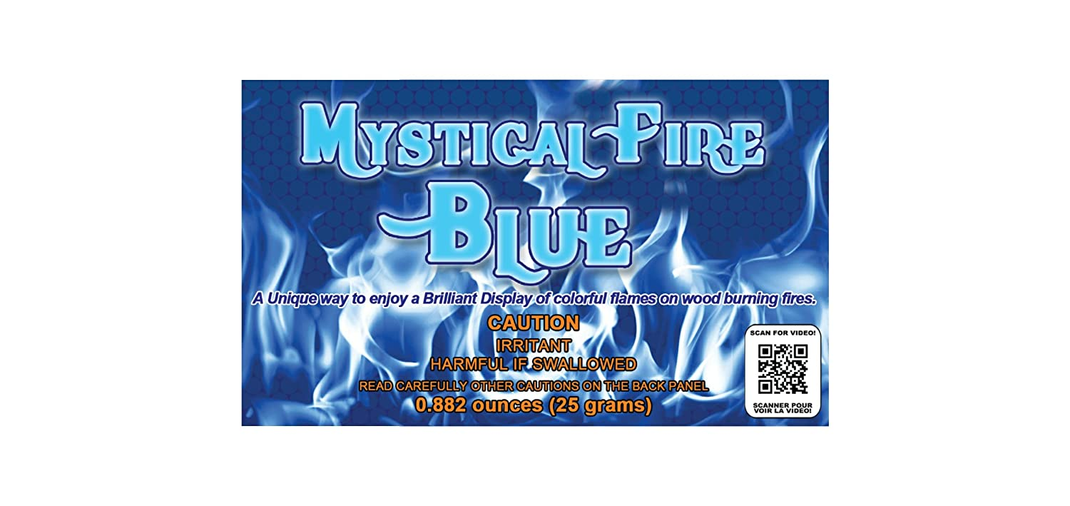 Amazon.com: Mystical Fire - Adds Colorful flames to a Campfire - 24 ...