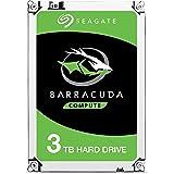 """Seagate ST3000DM007 HDD Interno da 3 TB, Dimensione: 3.5"""", Connettivita: SATA, Grigio"""