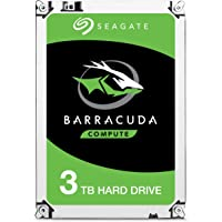 Seagate ST3000DM008 Disco Duro Interno BarraCuda 3TB, SATA 6Gb/s, 64MB Cache, 3.5""