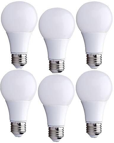 Bioluz Led 40 Watt Led Light Bulbs Uses 6 Watts Eco Series Warm