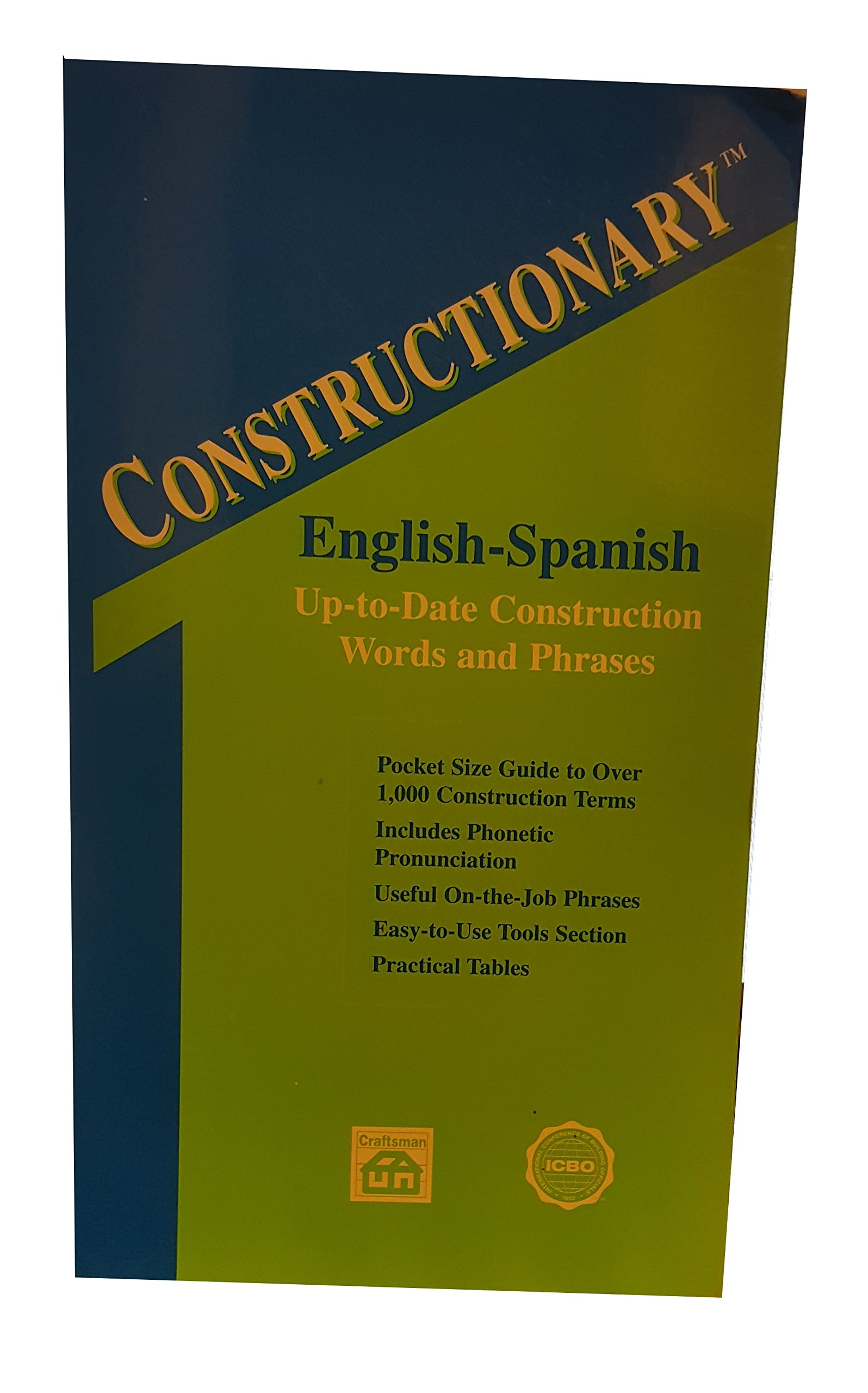 Download Constructionary: English-Spanish up-to-date construction words and phrases ebook