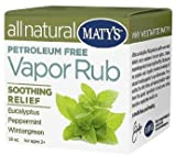 Maty's All Natural Vapor Rub 1.50 oz