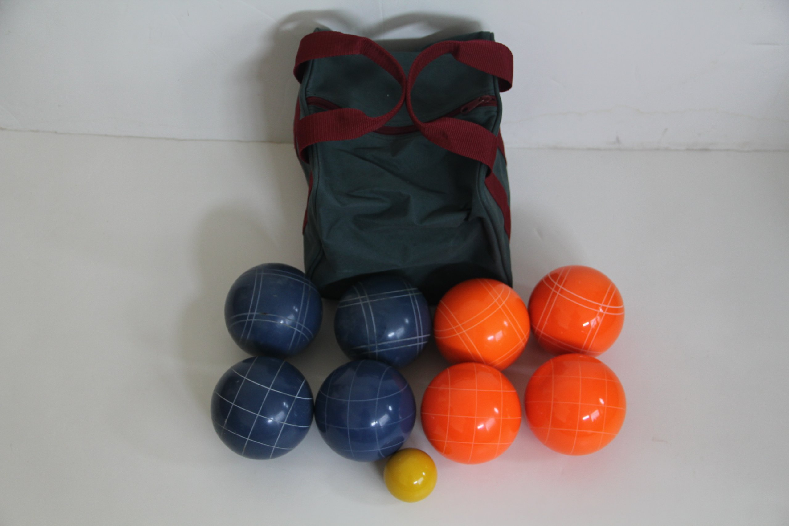 Epco Premium Quality Tournament Set - 110mm Blue and Orange Bocce Balls [Toy] by EPCO
