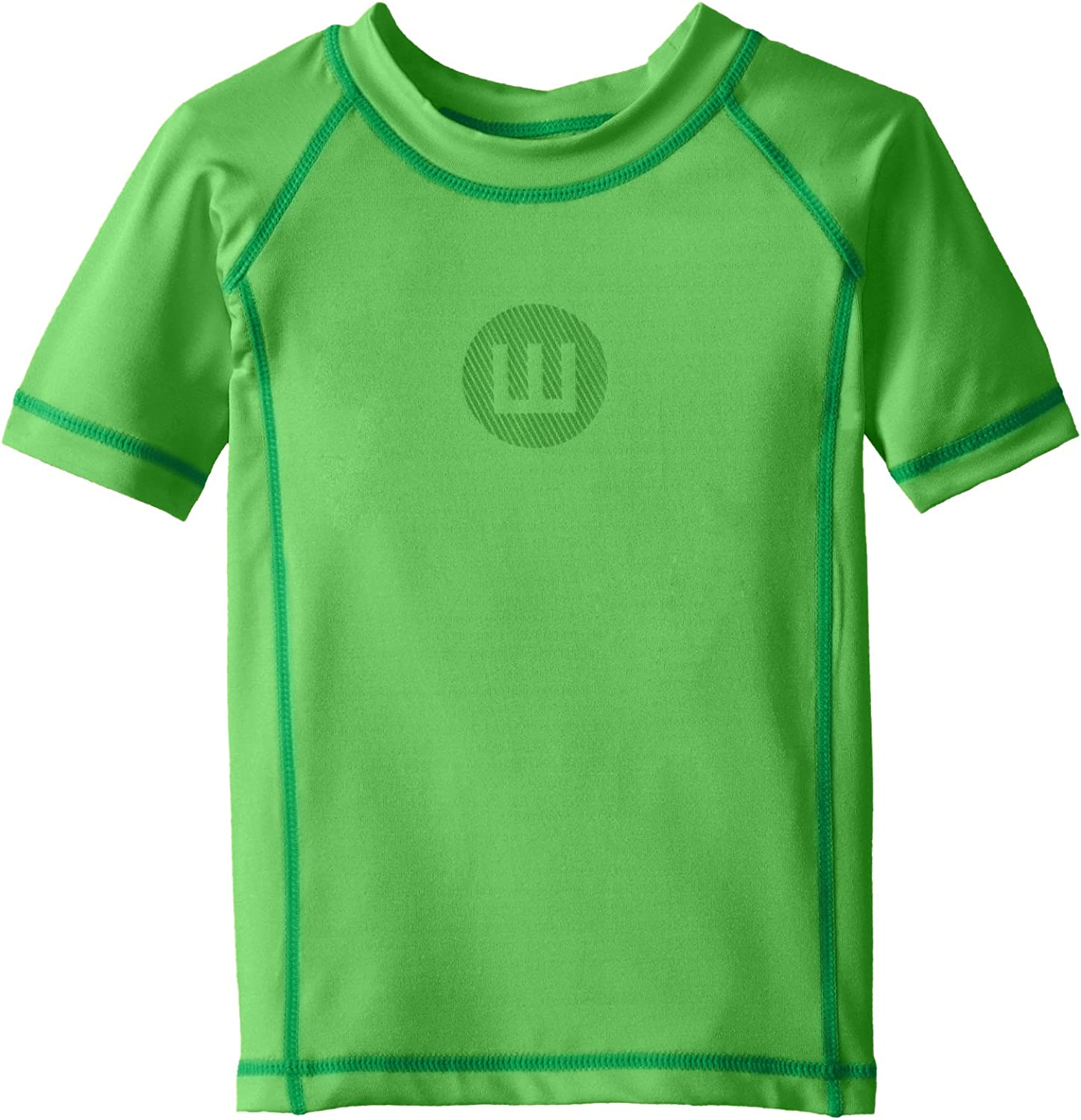 Wes and Willy Boys Short Sleeve Sun Safe Rash Guard