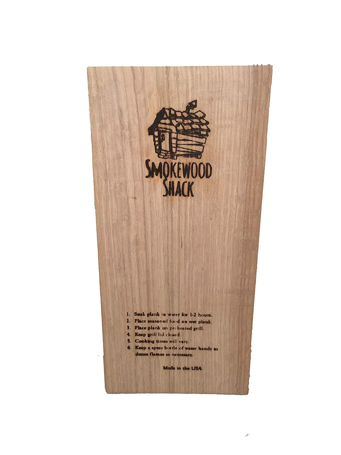 Smokewood Shack Oak Grilling Plank - DELIVERY INCLUDED