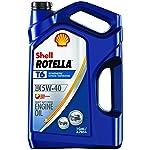 4. Shell Rotella 550045347 Synthetic Motor Oil (5W-40 CJ-4), 128. Fluid_Ounces