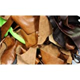 2kg Bag Of Mixed Quality Scrap Leather Arts & Crafts,Off Cuts,Remnants,Pieces
