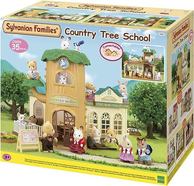 Amazon.es: Sylvanian Families- Country Tree School Mini muñecas y Accesorios, Multicolor (Epoch para Imaginar 5105), color/modelo surtido: Juguetes y juegos