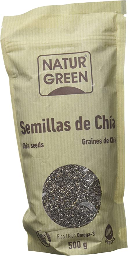 Naturgreen Semilla de Chöa Doypack - 500 gr, Paquete de 3: Amazon ...