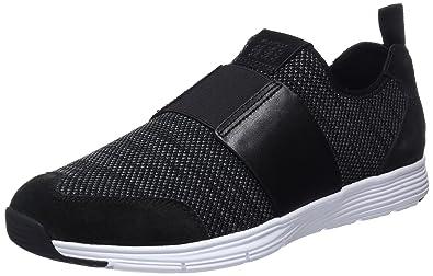 Geox U Snapish B, Sneakers Basses Homme, Noir (Black), 46 EU