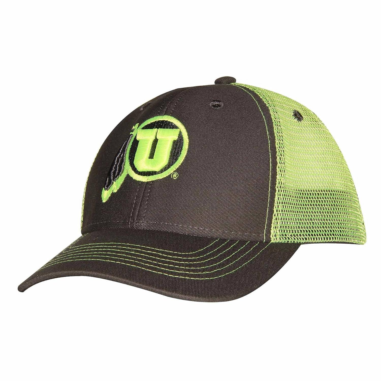 NCAA Utah Utes Adult Unisex Sideline Mesh Cap   Adjustable