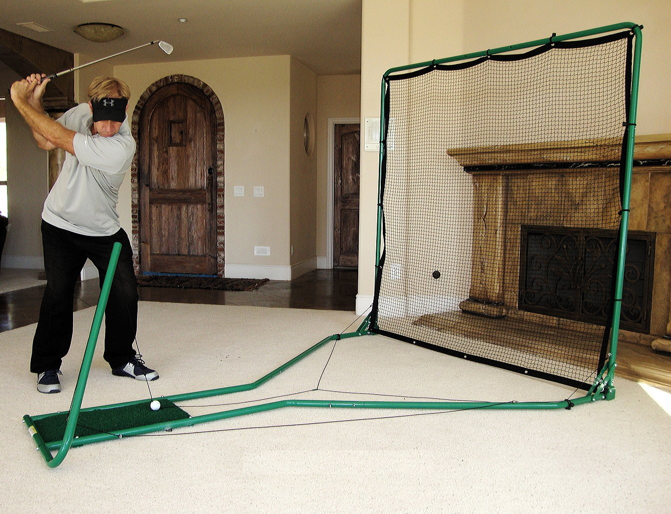 The #1 Golf Practice Net : CageGolf