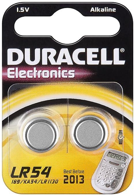 UNBEKANNT Lot de 10 Lots de 2 piles bouton alcaline quot Electronics quot   sous blister LR54 60e46aab7f46