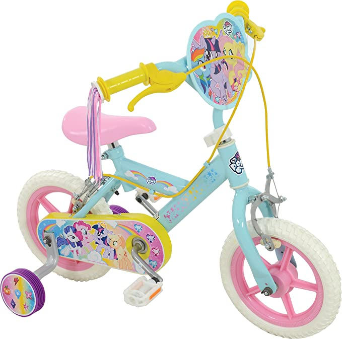 My Little Pony - Bicicleta para niña, Color Azul pálido, 30,5 cm ...