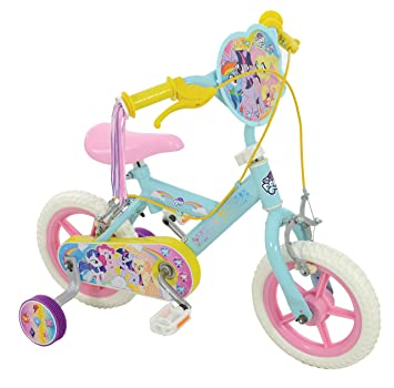 8407b2c425a My Little Pony Girl Bike Pale Blue, 12-Inch: My Little Pony: Amazon.co.uk:  Sports & Outdoors