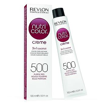 Revlon Nutri Color Cream - Cuidado capilar, 500 purple red ,100 ml