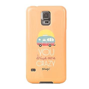 Mr. Wonderful - Carcasa Trasera Samsung Galaxy S5 Drive Me Crazy