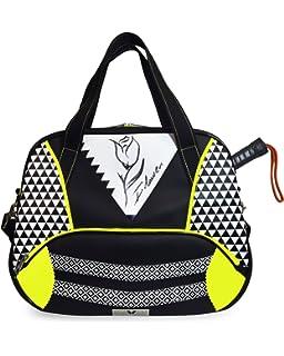 Idawen Bolsa Padel Tenis Mujer | Diseño Exclusivo | Impresión Floral | Producto Vegano, Certificado