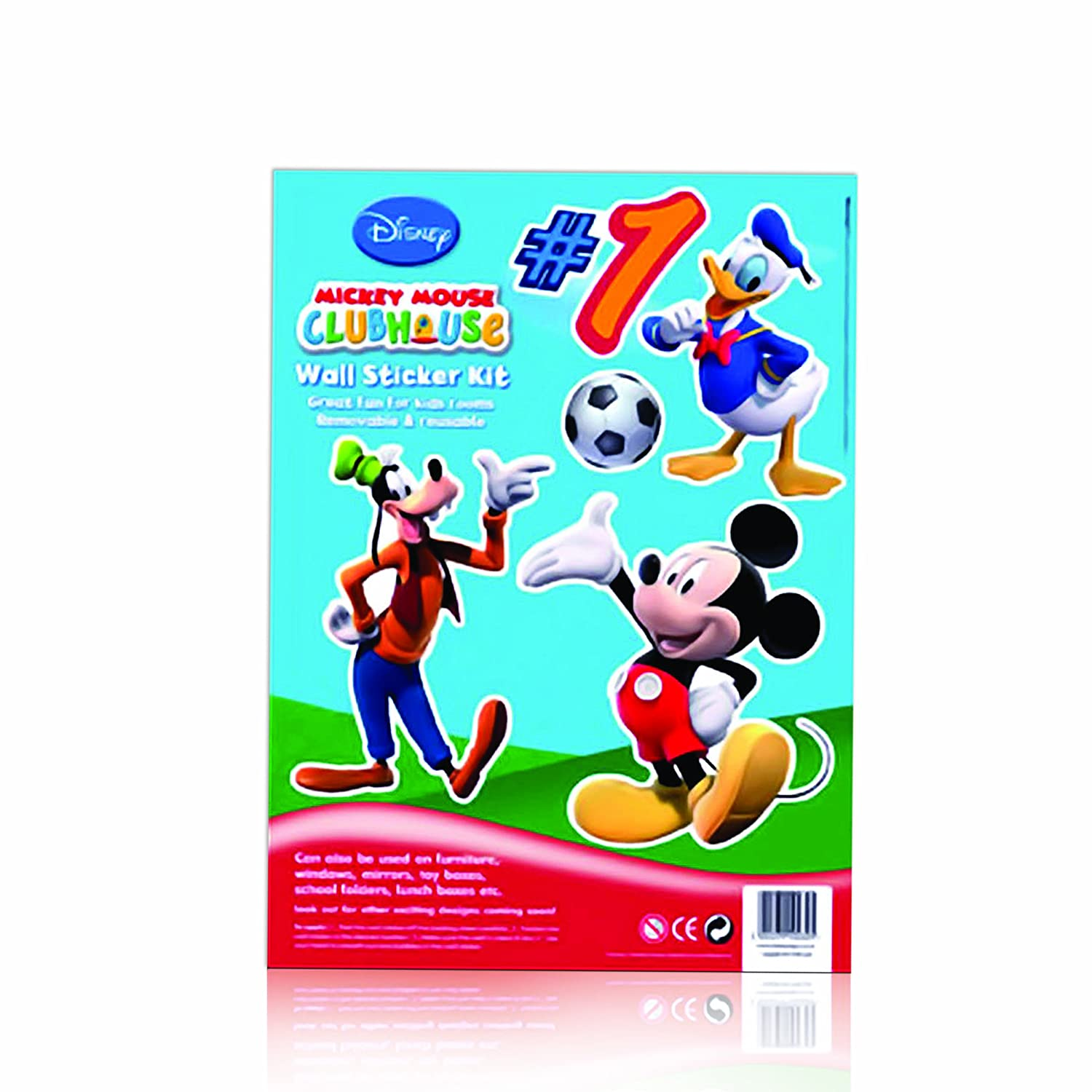Wonderful Disney Mickey Mouse Clubhouse Wall Stickers: Amazon.co.uk: Toys U0026 Games Part 25