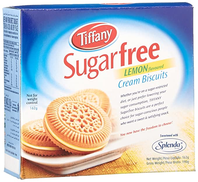 f3a75c391c70d Tiffany Biscuit Sugar Free Lemon, 162g: Amazon.in: Grocery & Gourmet ...
